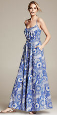 NWT! Banana Republic Blue Marimekko Collection Siirtolapuutarha Patio Dress 2