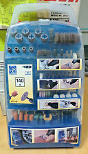 Lux Tools Kit  minitrapano 140 accessori per DREMEL nuovo con valigetta NEW kit