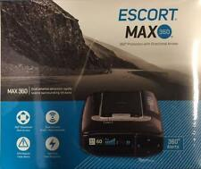 ESCORT MAX 360 POLICE COP RADAR/LASER/CAMERA DETECTOR PROTECTION W/BLUETOOTH/GPS