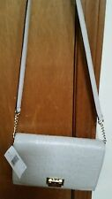 KATE SPADE FIONA ORCHARD VALLEY SIDEWALK CROCODILE HANDBAG NWT $298 VERY ELEGANT
