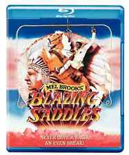 BLU RAY IMPORT ANGLAIS son français 1.0 Blazing Saddles M Brooks Comme neuf !