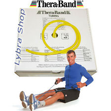 TheraBand TUBO ELASTICO pilates GIALLO (sottile) 2,5 mt tubing Thera-Band