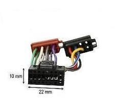 Câble adaptateur connecteur faisceau ISO pour autoradio Kenwood 16 pins