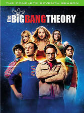 The Big Bang Theory: The Complete Seventh Season 7 (DVD, 2014, 3-Disc Set) New!