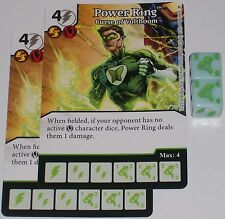 2 x POWER RING: CURSE OF VOLTHOOM 68 Green Arrow and The Flash Dice Masters
