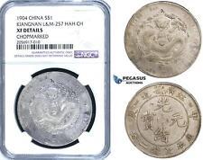 ZH03, China, Kiangnan, Dollar 1904, Silver, L&M-257 (HAH CH) NGC XF Det.