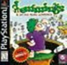 Lemmings & Oh No! More Lemmings complete in case w/ manual Sony PlayStation 1