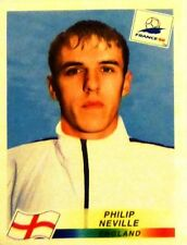 1998 France '98 Panini Football Soccer World Cup Stickers PHILIP NEVILLE 469 NEW