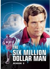 Six Million Dollar Man: Season 2 [6 Discs] (2012, REGION 1 DVD New) Season 2
