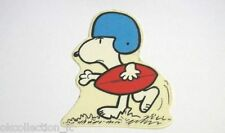 ADESIVO anni '80 / Old Sticker / Autocollant _ SNOOPY RUGBY (cm 7 x 8) 26p