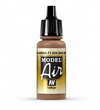 VALLEJO AIRBRUSH PAINT - MODEL AIR - SAND BROWN 17ML - 71.034