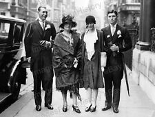 8x10 Print Amelia Earhart Winston & Amy Guest Ray Guest Ascot 1928 #AE110
