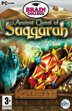 Brain College Ancient Quest of Saqqarah Game (PC-CD) NEW SEALED