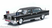1972 LINCOLN CONTINENTAL RONALD REAGAN LIMOUSINE 1/43 BY GREENLIGHT 86110 C