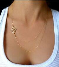 Fashion Women Pendant Charm Chain Choker Chunky Statement Bib Necklace Jewelry