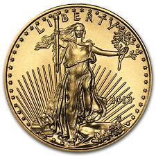 2013 1/10 oz Gold American Eagle Coin - SKU #71275