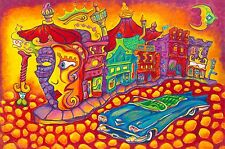 SIGNED by Jason and Gary Becker Print CARNIVAL ON THE EDGE OF TOWN (12x9 in.)