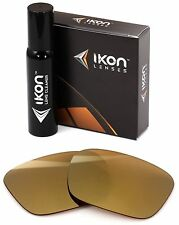 Polarized IKON Replacement Lenses For Von Zipper Fulton Sunglasses Gold Mirror