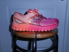 Women's Brooks Glycerin 12 Running Sneakers Sz 8 Pink/Orange