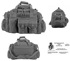 The Humvee Duffel Bag / Bug Out Bag Tactical / Military / Survival Gear - GREY