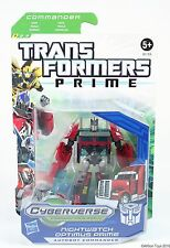 Hasbro Transformers Prime Cyberverse Commander Class Nightwatch Optimus Prime