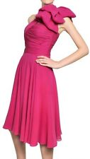 Giambattista Valli Marchesa Couture 100% Silk Dress Nwt