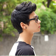 Mens Male Wig Handsome Vogue Sexy Korean Boys Short Hair Wigs Cosplay