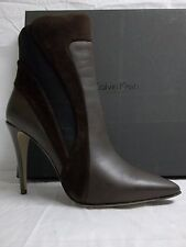 Calvin Klein Collection Size EU 39.5 US 9.5 Ilana Brown Suede Booties New Womens