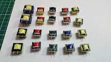 20 x  AUDIO ISOLATION TRANSFORMERS 10 SETS, 600:600 , 1300:8 , 1300:16 and more