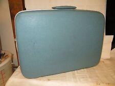 """Vintage Samsonite Silhouette Blue 24"""" Hardside Suitcase"""