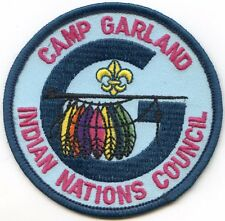 1970's Camp Garland Patch Indian Nations Council