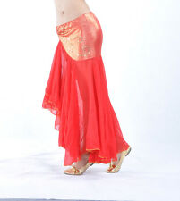Sexy belly dance Costume fishtail skirt Dress 9 colours