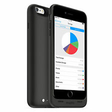 mophie space pack wireless Battery Case with 64GB Storage for iPhone 6s Plus/6 P