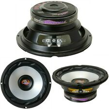 "PAIR WOOFER 16,50 CM 165 MM 6,5"" PYRAMID WX65X WHITES FOR DOORS AUTO CAR"