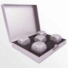 5pcs Aluminum Metal Dice Poker Game Toy Party Casino Lot SOUVENIR Free Shipping