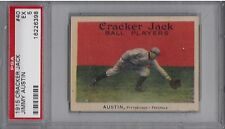 1915 Cracker Jack #40 James Austin PSA Ex 5 ~Pittsburgh Federals~