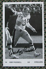RARE ANDY RUSSELL AUTO SIGNED PRESS PHOTO PITTSBURGH STEELERS