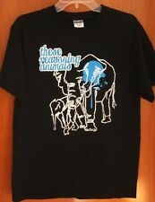 THESE REASONING ANIMALS med tee Amherst prog-rock jazz T shirt Ohio elephant