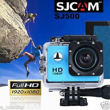 Waterproof Full HD 1080P SJ5000 Sports Action Camera DV DVR Camcorder+Parts Blue