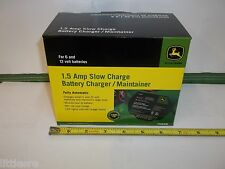 NEW JOHN DEERE BATTERY CHARGER/MAINTAINER 1.5 AMP MOUNTS TO YOUR TRACTOR