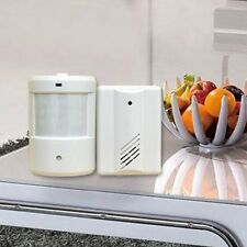 WIRELESS MOTION SENSOR DETECTOR DOOR GATE ENTRY BELL CHIME ALARM WITH RECEIVERS