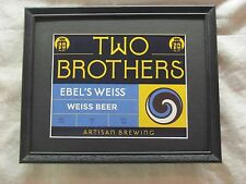 TWO BROTHERS EBEL'S WEISS BEER SIGN  #1237