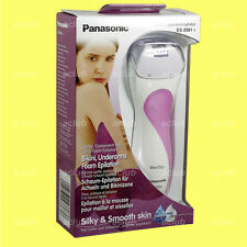 Panasonic ES-2081 Wet Dry Women Lady Epilator Body Skin Hair Removal Remover