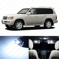 13 x Xenon White LED Interior Lights Package For 1999 - 2007 Lexus LX470