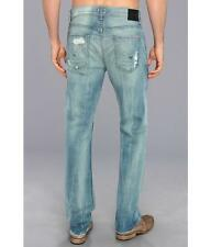 Hudson Dandy Slouchy Men's Straight Jeans in Rooster MADE IN USA $220 NEW 33x34