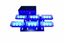 18 LED Emergency Vehicle Strobe Lights Deck Dash Grille Lightbars BLUE