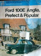 Pearson's Car Servicing Manual FORD 100E ANGLIA PREFECT POPULAR SQUARE VAN ETC.