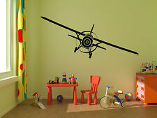 AIRPLANE Home Vinyl Wall Decal Bedroom Graphics Sticker Decor Mural