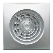 """Envirovent SIL100SS """"Silent"""" Extractor Fan with Matt Chrome /Silver Finish"""