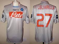 MAGLIA SS NAPOLI 2009-10 MACRON #27 QUAGLIARELLA SHIRT TRIKOT CALCIO JERSEY